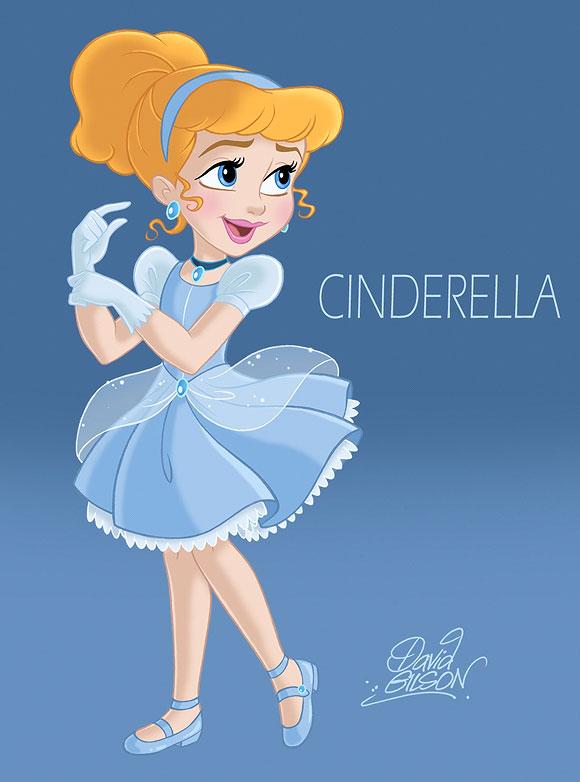 David Gilson - Cinderella / Cenerentola