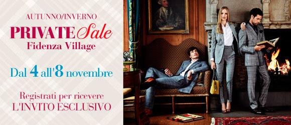 Fidenza Village, Private Sale