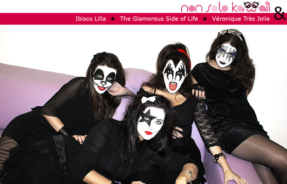 Hello Kitty Kiss, The Demon, The Starchild, The Spaceman, The CatMan