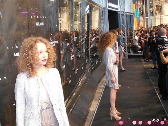 Sisley Event Indipendent People, inaugurazione del negozio a Milano con sfilata della collezione Spring Summer 2012