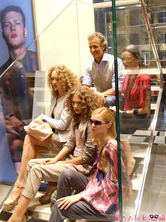 Alessandro Benetton al Sisley Event Indipendent People, inaugurazione del negozio a Milano