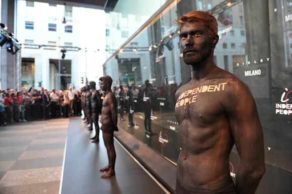 Sisley Event Indipendent People, inaugurazione del negozio a Milano