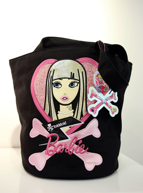 Tokidoki x Barbie Collection, borsa nera, black bag kawaii