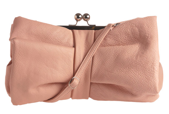 kawaii cute cat look: ModCloth Private Party Clutch pink bow, borsa a fiocco rosa