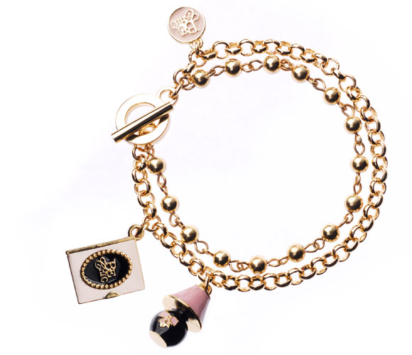 Chic Kawaii Look: Bon Ton, Be Chic - Diario Segreto & Sweet Lamp Bracelet braccialetto romantico