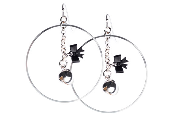 Chic Kawaii Look: New Romantic, Be Chic - Campanellino Earrings, orecchini romantico