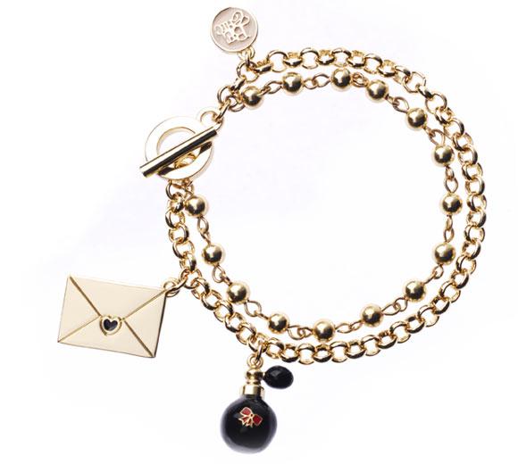 Chic Kawaii Look: Bon Ton, Be Chic - Atomizer Profumo & Lettera Bracelet, braccialetto