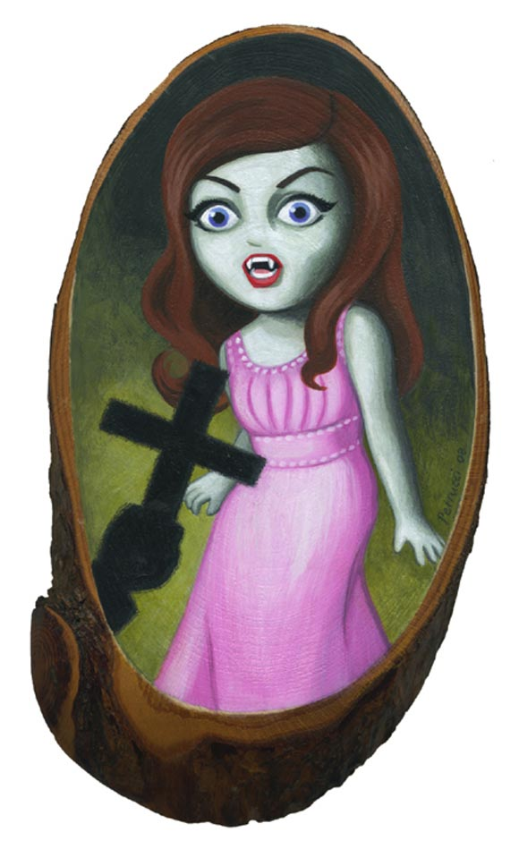 Lisa Petrucci Slaughter of the Vampires, vampira twilight