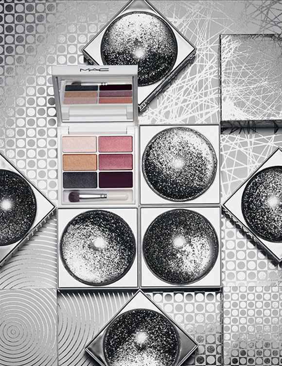 M·A·C Glitter and Ice Collection for Holiday 2011 / Ice Parade Snow Globe Eye shadows