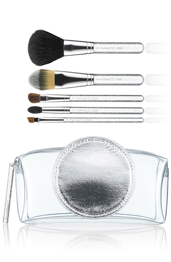 M·A·C Glitter and Ice Collection for Holiday 2011 / Make It Perfect Brush Kit, Essential / Brushes: 129 SE, 190 SE, 275 SE, 266 SE, 226 SE