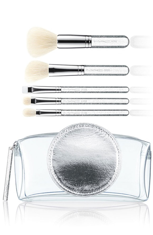 M·A·C Glitter and Ice Collection for Holiday 2011 / Make It Perfect Brush Kit, Special Edition / Brushes: 167 SE, 168 SE, 239 SE, 217 SE, 212 SE