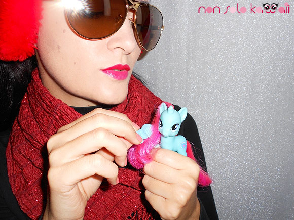 Sunny winter by non solo Kawaii, Revlon Just Bitten Stain and my little pony, tinta labbra Revlon e miniponi