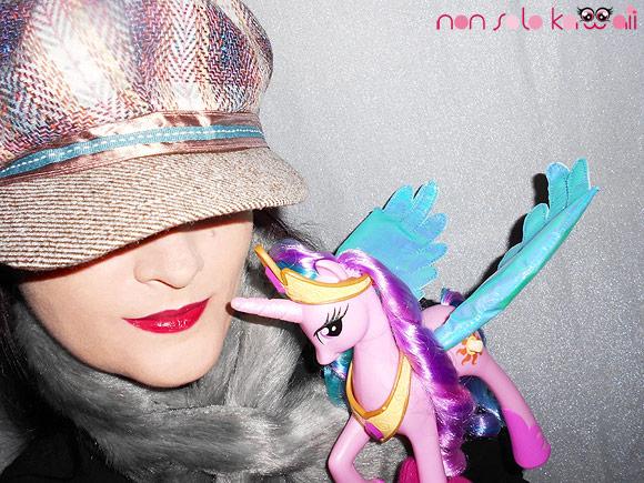 Help me to fly by non solo Kawaii, Revlon Just Bitten Stain and my little pony, tinta labbra Revlon e miniponi Princess Celestia