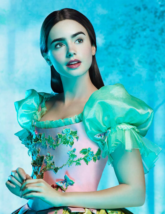 Snow White movie Mirror Mirror, biancaneve Lily Collins
