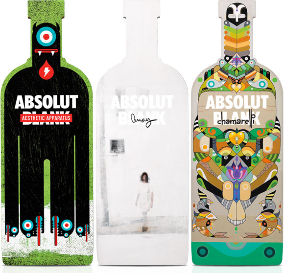 It all starts with an Absolut Blank, Aesthetic Apparatus, Brett Amory, Fernando Chamarelli