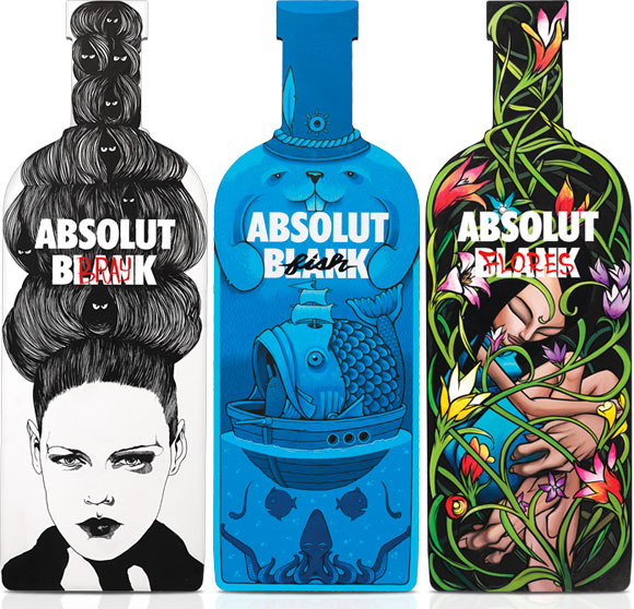 It all starts with an Absolut Blank, David Bray, Jeremy Fish, Sam Flores