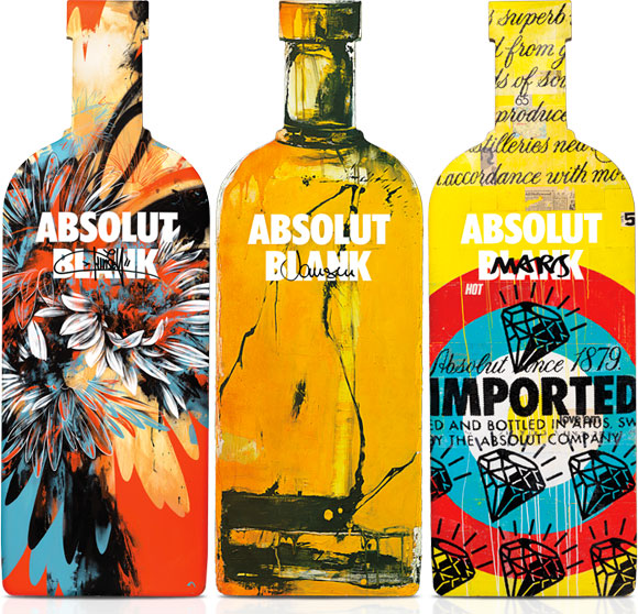 It all starts with an Absolut Blank, Dave Kinsey, Marcus Jansen, Robert Mars