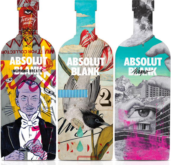 It all starts with an Absolut Blank, Doug Cunningham & Jason Noto, Eduardo Recife, Mario Wagner