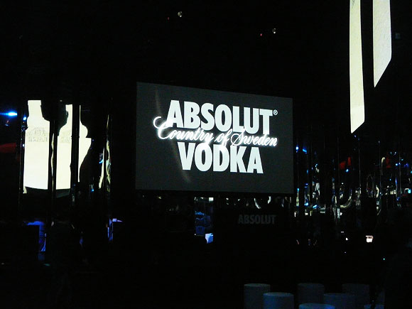 It all starts with an Absolut Blank, Event in Milan
