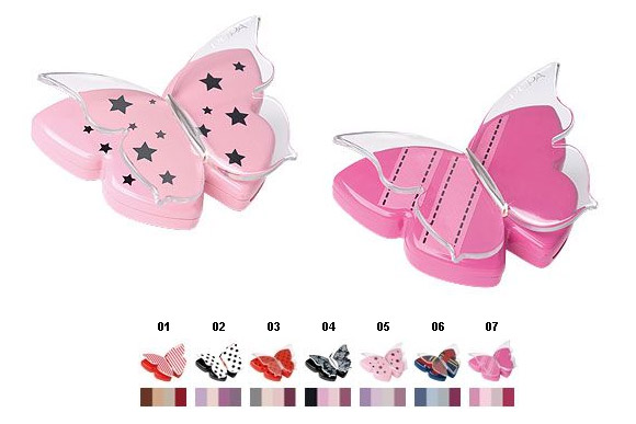 Miss Butterfly - Pupa - Makeup Trousse Christmas Natale 2011