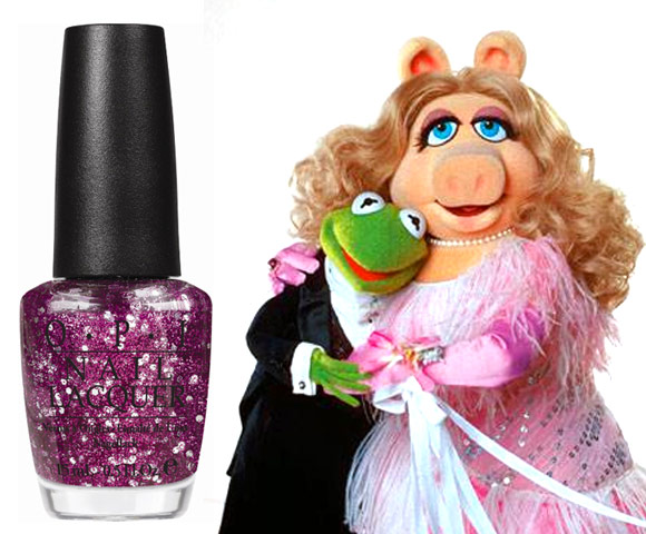 Divine Swine - OPI Muppets Collection