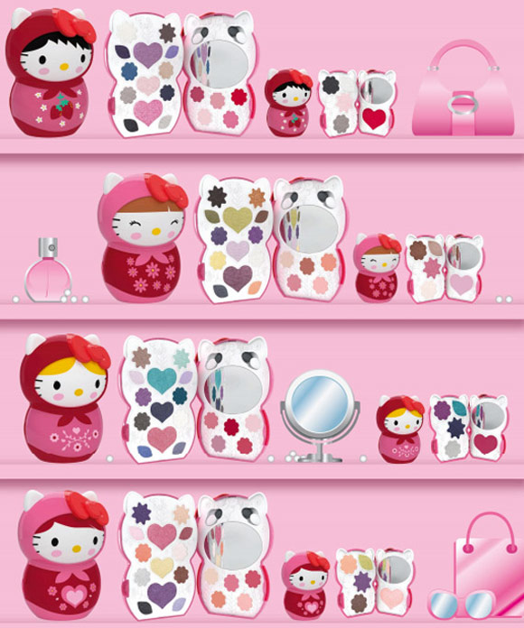 Hello Kitty Nordic Holiday Kit Make Up - Deborah