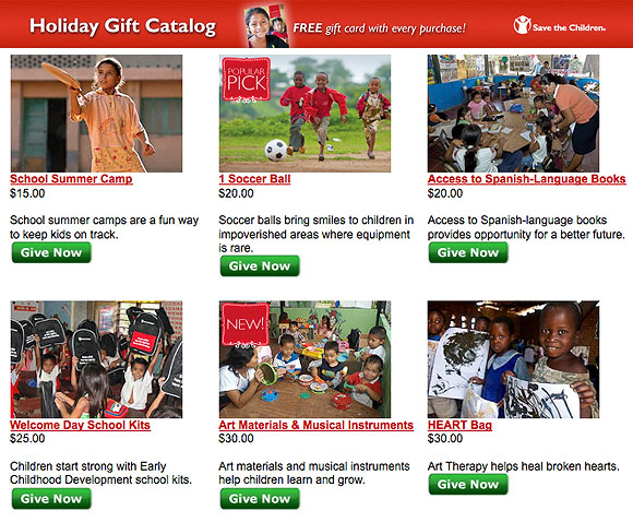 Wishlist - Save The Children