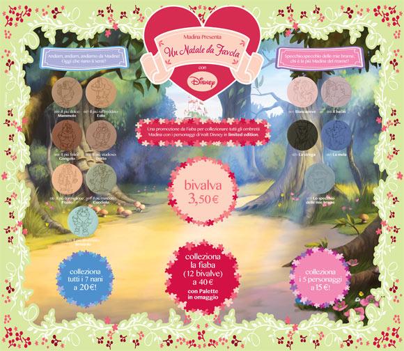 Un Natale da Favola: Madina for Disney, Biancaneve, prezzi e colori