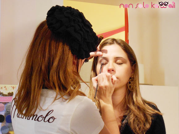 Un Natale da Favola: Madina for Disney, evento a milano con makeup