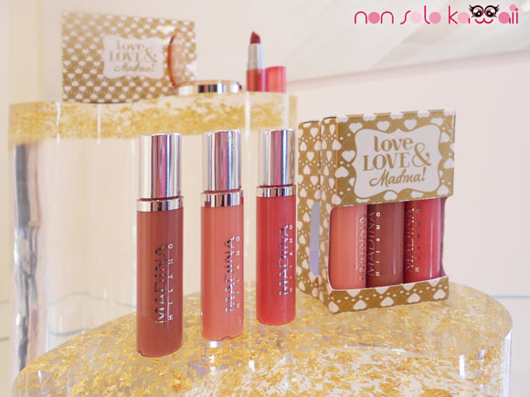 Love, Love & Madina!, Gloss Set Love Actually, collezione makeup Natale