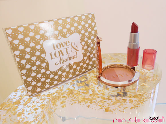 Love, Love & Madina!, Set Some like it hot, collezione makeup Natale