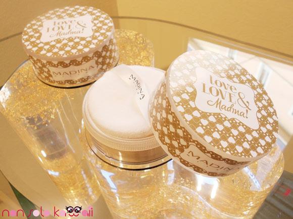Love, Love & Madina!, Loose Powder A Star is Born, cipria oro della collezione makeup Natale