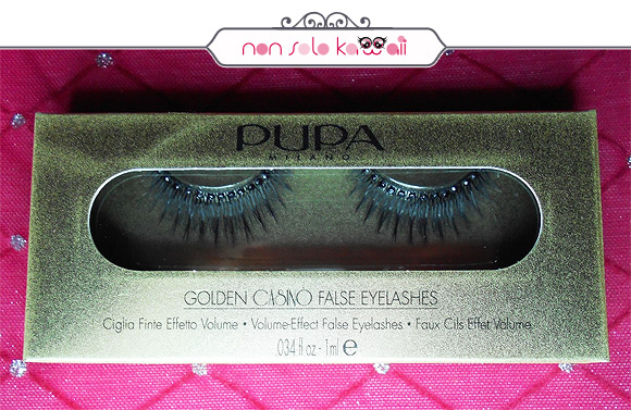 Pupa - False Eyelashes Golden Casinò