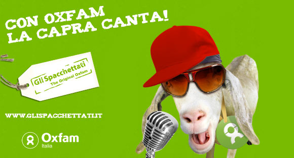 Gli Spacchettati by Oxfam, capra canta