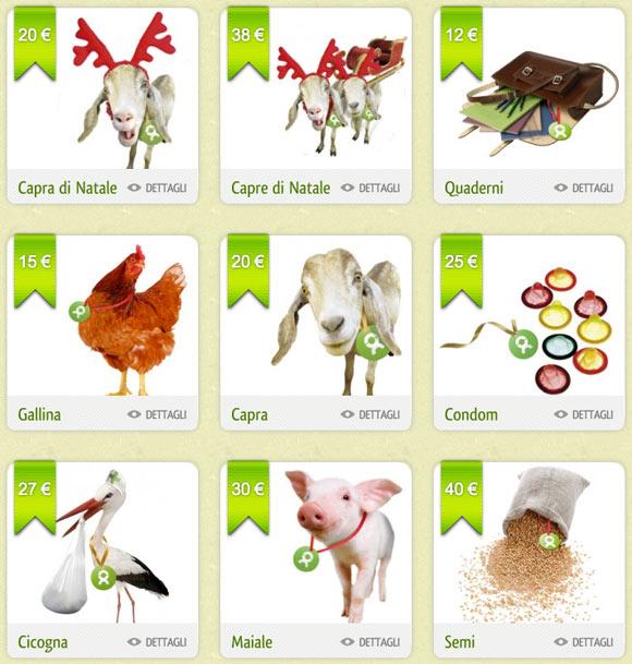 Gli Spacchettati by Oxfam, regali gift