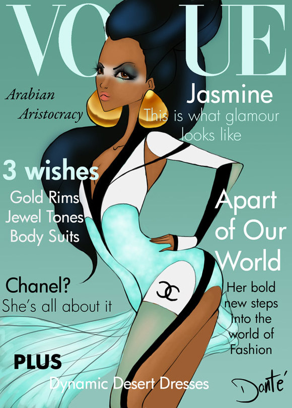 Vogue Princesses, Cinderella, Jasmin, Aladdin