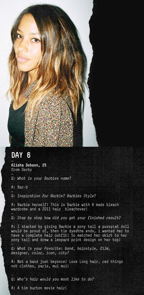 Alisha Dobson, Bleach Salon