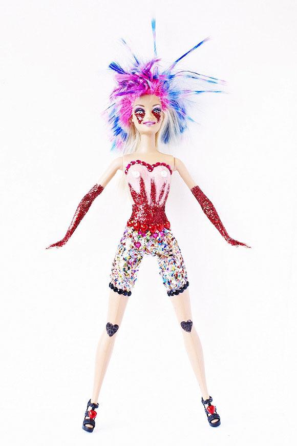 Glitter Monster by Scarlett Carlos Clarke, Bleach Salon