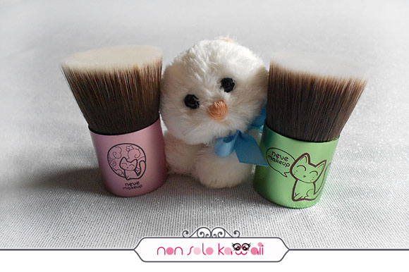 non solo Kawaii - Flatbuki Kawaii Japan (sold out), Catbuki, Kawaii Kabuki Collection, Neve Cosmetics
