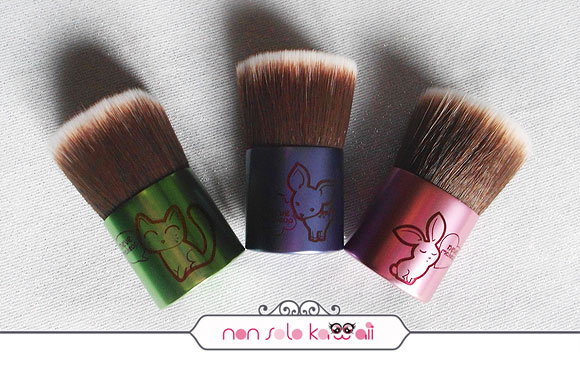 non solo Kawaii - Catbuki, Deerbuki, Bunnybuki Kawaii Kabuki Collection, Neve Cosmetics