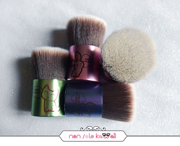 non solo Kawaii - Catbuki, Deerbuki, Bunnybuki, Flatbuki Kawaii Japan (sold out), Kawaii Kabuki Collection, Neve Cosmetics