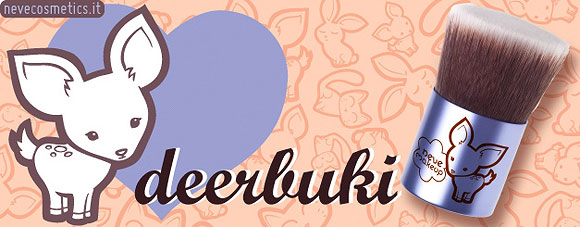 Neve Cosmetics - Deerbuki, Pennello Kawaii Kabuki, brush