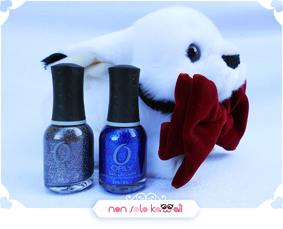 Nail art Jessica and Roger Rabbit inspired, Orly Mineral FX - Nail art ispirata a Jessica Rabbit, Rock Solid, Stone Cold