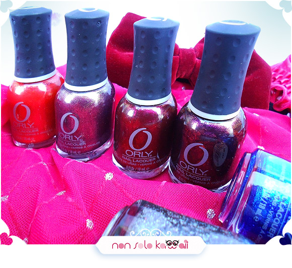 Orly Mineral FX Collection: Emberstone, Rock The World, Rock it, Rococo A-Go-Go, Rock Solid, Stone Cold