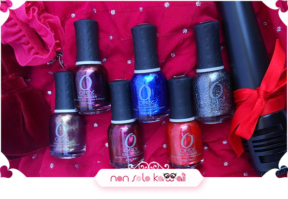 Orly Mineral FX Collection: Rock The World, Rococo A-Go-Go, Rock it, Stone Cold, Emberstone, Rock Solid