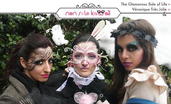 Carnevale: Signora Pizzo, Coniglietto delle Rose, Malefica - Carnival: Lady Lace, Bunny Rose, Malefica
