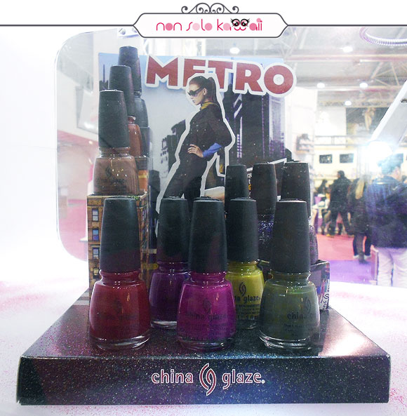 Roma International Estetica - China Glaze Metro Collection