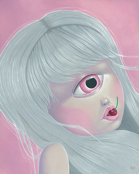 Maria Rozalia Finna - Random Cherry Mutation, cute ciclope