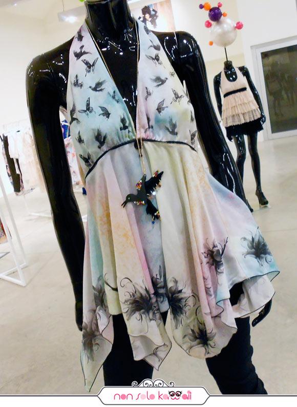 Nuova Collezione Fornarina Primavera Estate 2012 con Kahori Maki