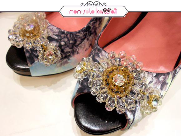 scarpe della Nuova Collezione Fornarina Primavera Estate 2012 con Kahori Maki